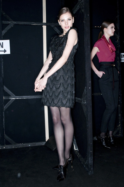 Paola Frani Fall 2009 - Backstage