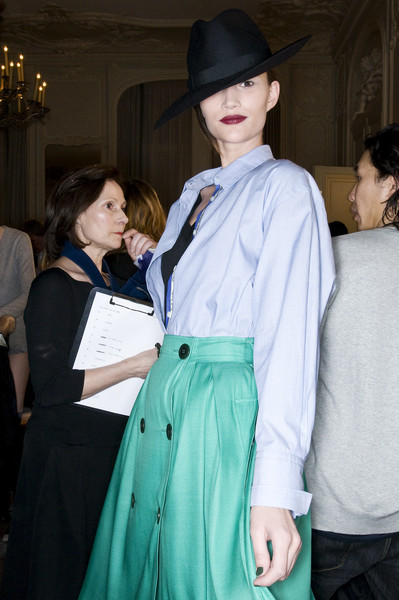 Paul Smith Fall 2009 - Backstage
