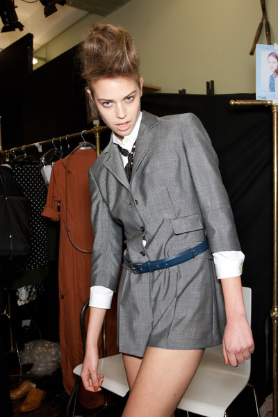 Paul Smith Spring 2011 - Backstage
