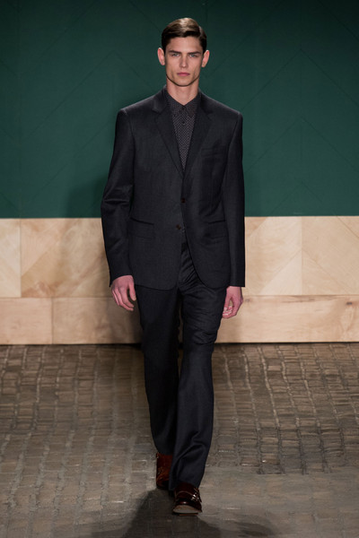 Perry Ellis By Duckie Brown Fall 2013