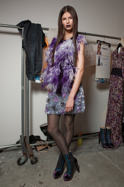 Peter Som at New York Fall 2010 (Backstage)