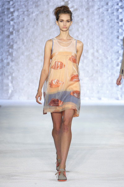 Philosophy di Alberta Ferretti at New York Spring 2010