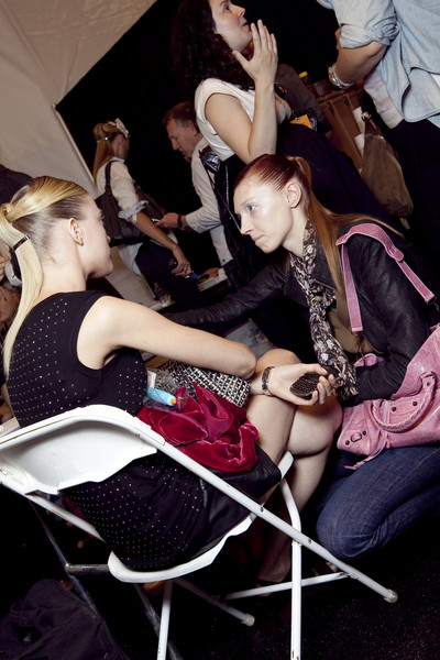 Prabal Gurung Spring 2011 - Backstage