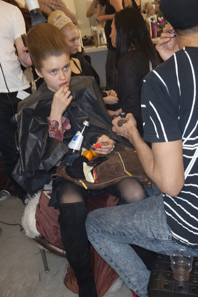 Prada Fall 2010 - Backstage