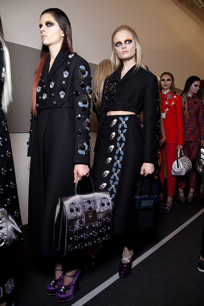 Prada Fall 2012 - Backstage