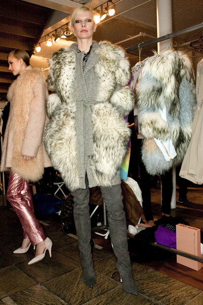 Preen Fall 2009 - Backstage