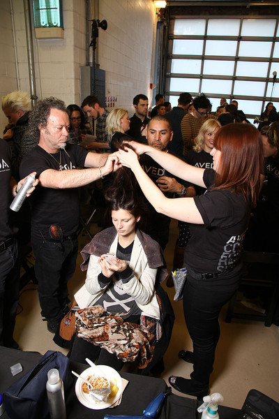 Preen Fall 2012 - Backstage