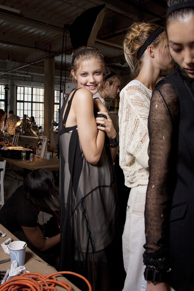 Rag & Bone at New York Spring 2011 (Backstage)