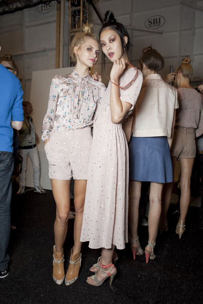 Rebecca Taylor at New York Spring 2011 (Backstage)