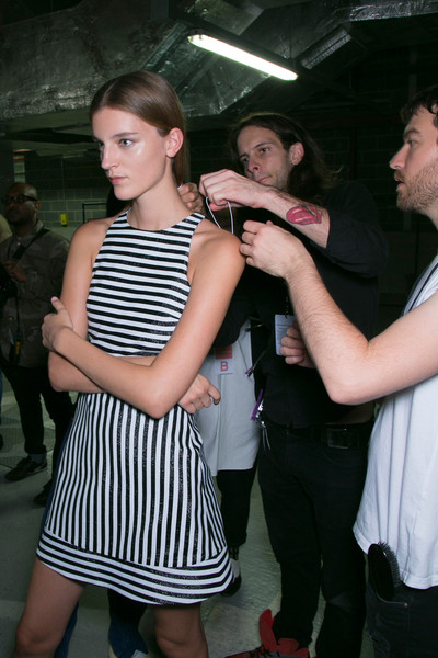 Richard Nicoll Spring 2014 - Backstage