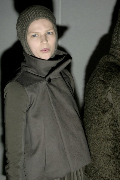 Rick Owens Fall 2007 - Backstage