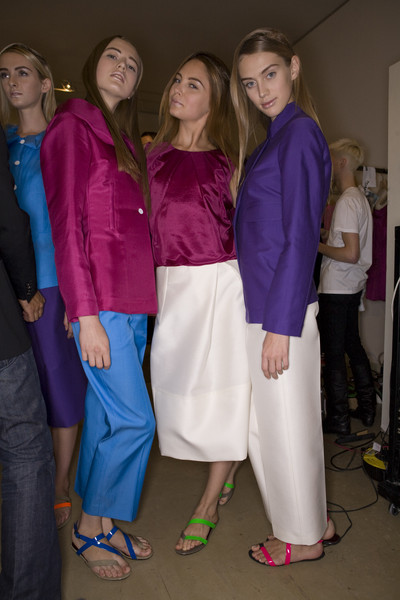 Robert Musso Spring 2009 - Backstage