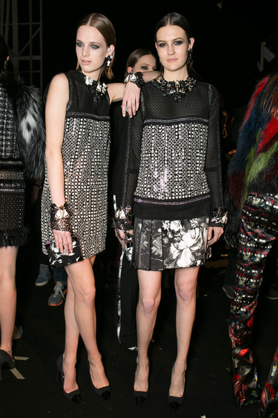 Roberto Cavalli Fall 2013 - Backstage