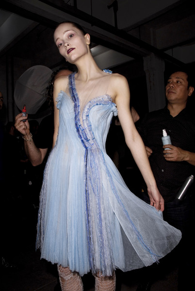Rodarte Fall 2008 - Backstage