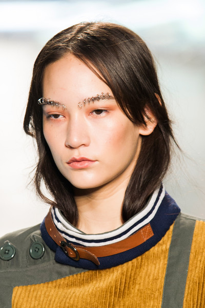Hooped Brows at Rodarte