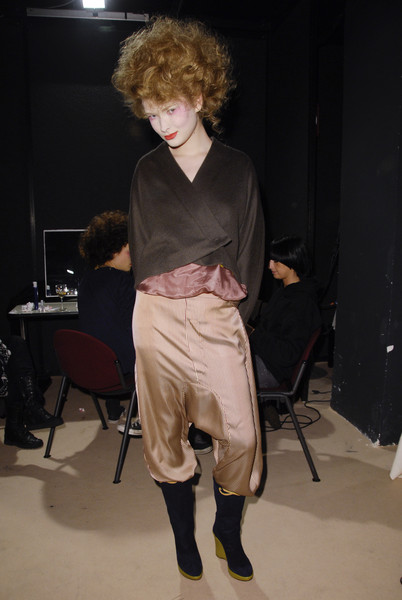 Romeo Gigli Fall 2008 - Backstage