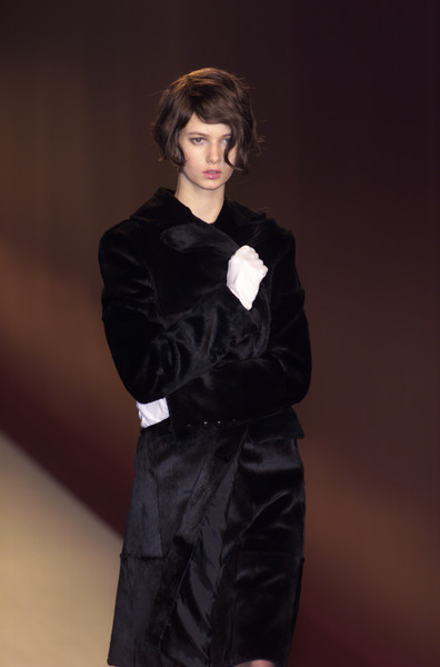 Salvatore Ferragamo at Milan Fall 2001