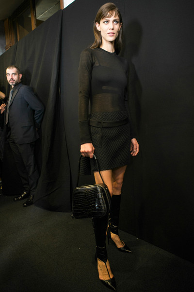 Salvatore Ferragamo Fall 2013 - Backstage