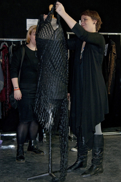 Sharon Wauchob Fall 2009 - Backstage