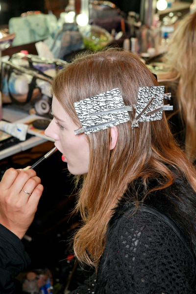 Sharon Wauchob Spring 2013 - Backstage