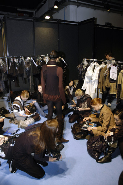 Shirt Passion Fall 2007 - Backstage