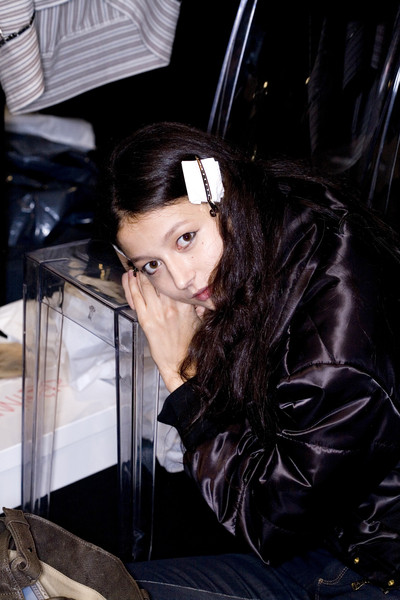 Sportmax at Milan Spring 2009 (Backstage)