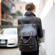 Backpacking Leather