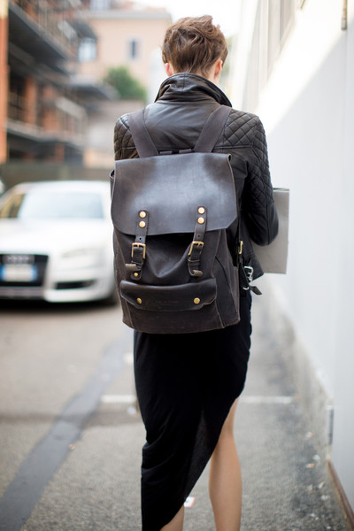The Functional Backpack Street Style Spotlight Bringing
