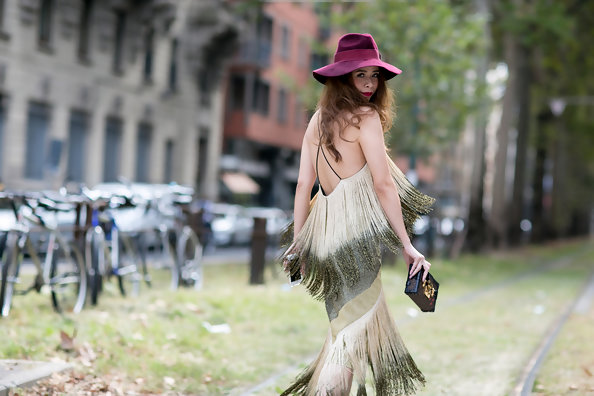 Best Street Style at Milan Fashion Week Spring 2015