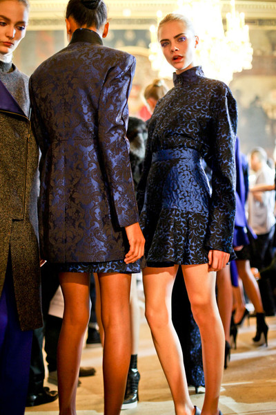 Stella McCartney Fall 2012 - Backstage