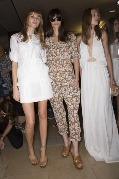 Stella McCartney Spring 2008 - Backstage
