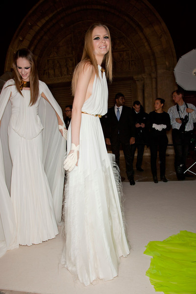 Stéphane Rolland at Couture Spring 2012 (Backstage)