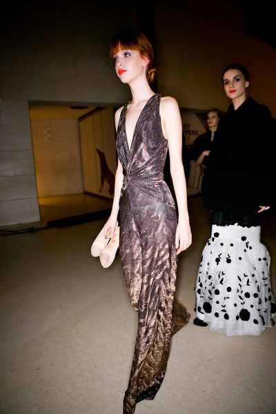 Temperley London Fall 2011 - Backstage
