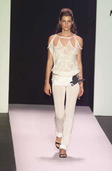 Tencel at New York Spring 2001