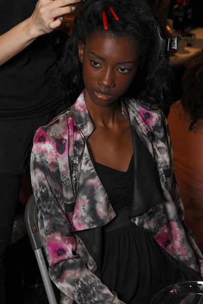 Tracy Reese Spring 2012 - Backstage
