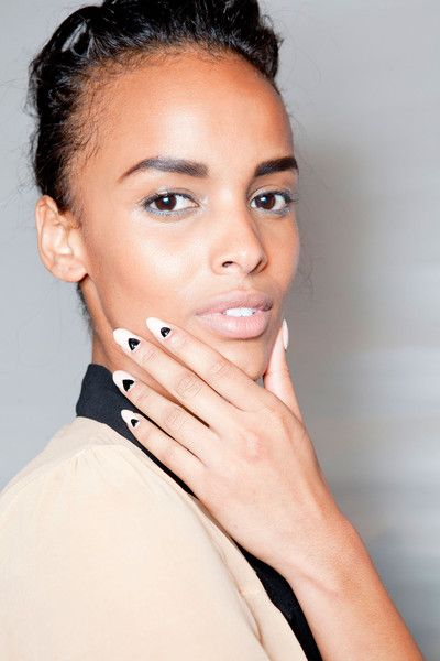 Best Spring 2013 Runway Nails - Tracy Reese