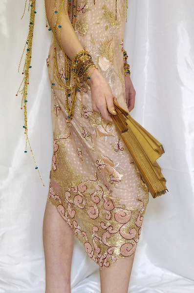 Ungaro clup at Couture Spring 2004 (Details)