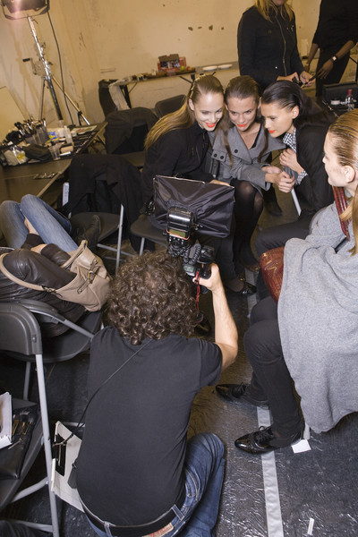 Veronique Branquinho Spring 2009 - Backstage