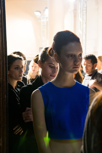 Veronique Branquinho Spring 2013 - Backstage
