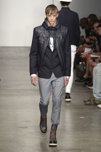 Yigal Azrouël Men's Spring 2012