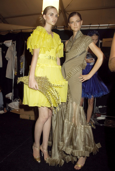 Zac Posen at New York Spring 2008 (Backstage)