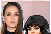 Your Favorite Celebs With And Without Bangs