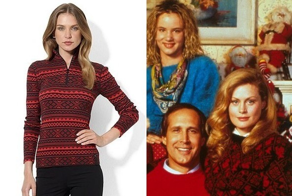 Beverly D'Angelo's Fair Isle Sweater in 'National Lampoon's ...