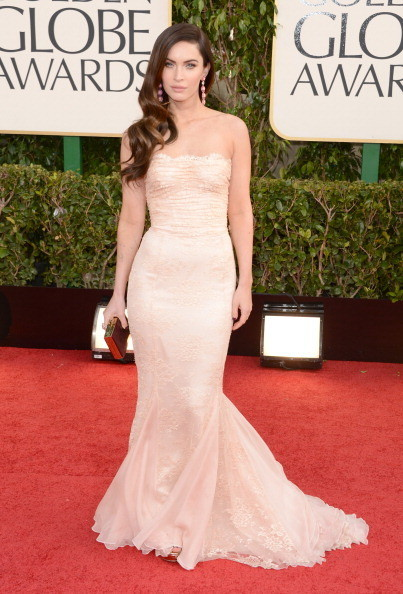 Megan Fox Wears Dolce & Gabbana at the 2013 Golden Globes