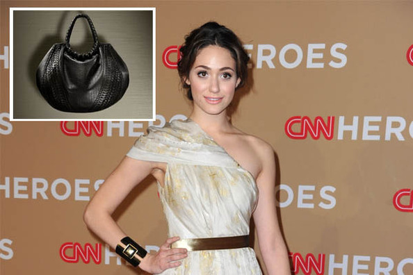 Emmy Rossum Designs a Bag for Elie Tahari