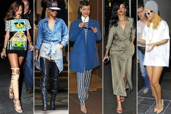 Gutsy Girl: Rihanna's Most Daring Street Style Moments