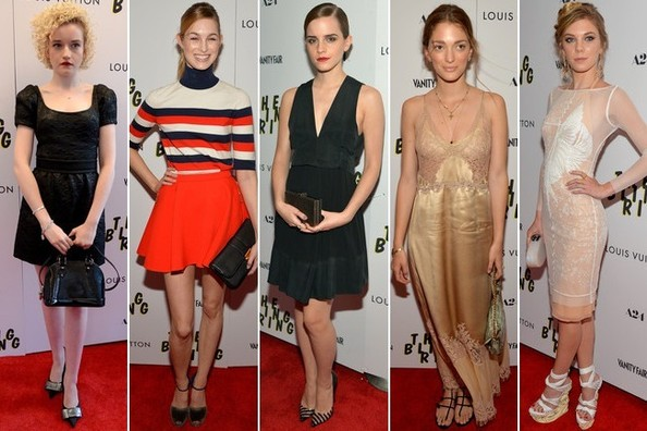 Best Dressed at 'The Bling Ring' Screening in New York
