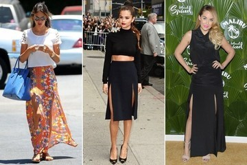 Trend to Try: Double-Slit Skirts