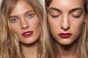 Beauty Inspiration - Backstage at Burberry's Spring 2013 Show