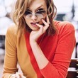 Karlie Kloss Reps Warby Parker